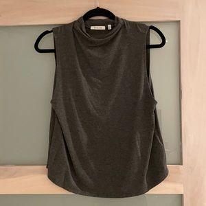 Aritzia Babaton Vince Tank top in grey medium